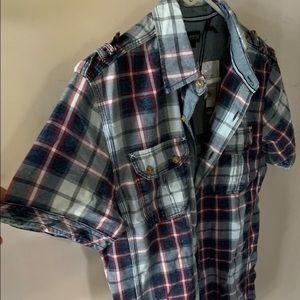 Men's short sleeved Buffalo shirt